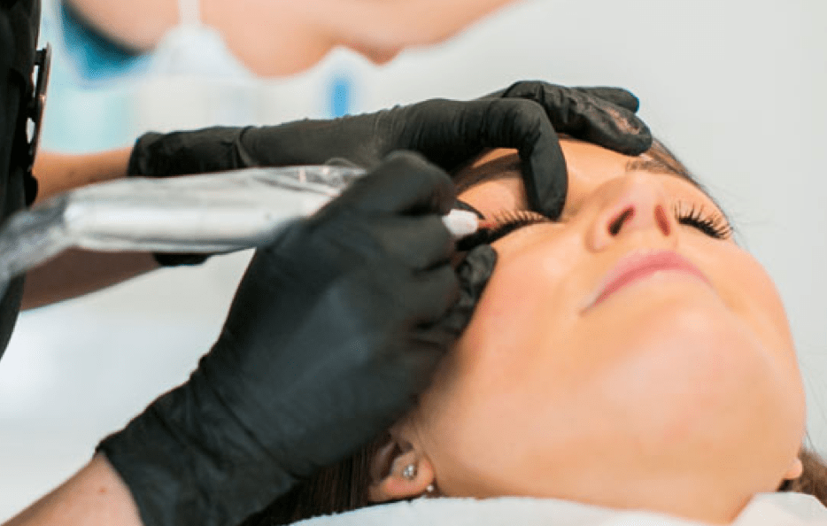 Expertly crafted semi permanent makeup